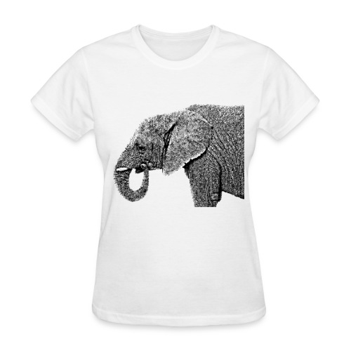 Vintage Elephant - Women's T-Shirt