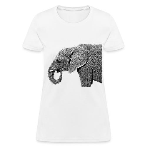 Vintage Elephant - Women's T-Shirt