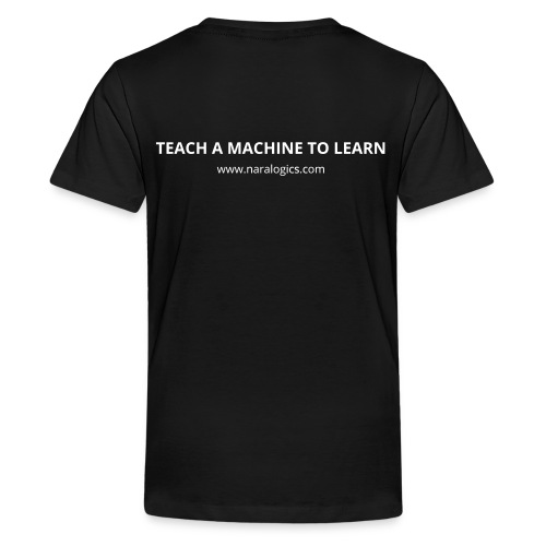 KIDS - Network / Teach a Machine to Learn (White) - Kids' Premium T-Shirt