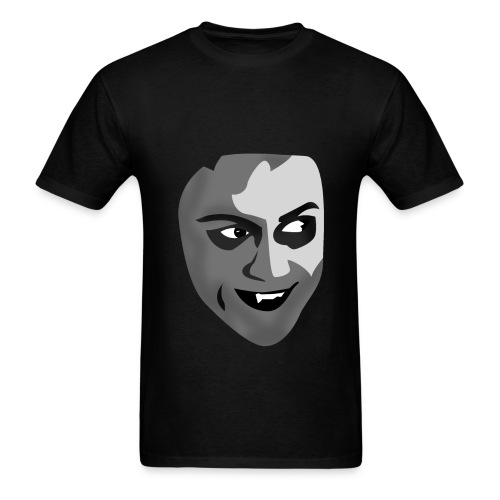 his face - Men's T-Shirt