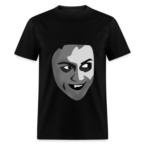 his face - Men's T-Shirt