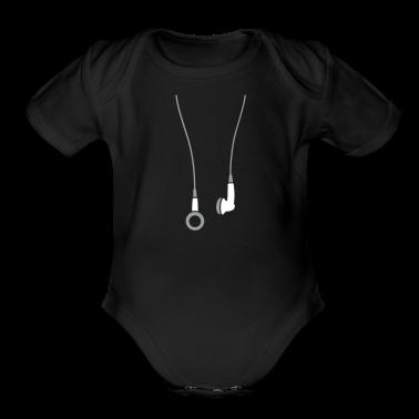 Earphones 2clr Baby & Toddler Shirts