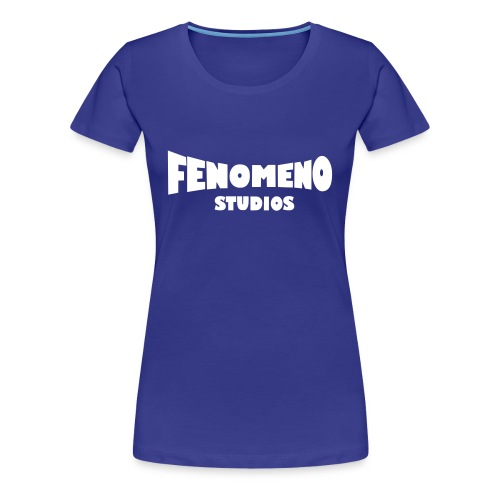 Women's Premium T-Shirt White Fenomeno Logo - Women's Premium T-Shirt