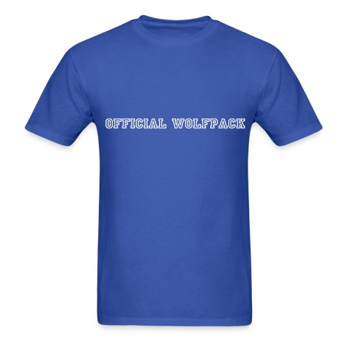 Official Wolfpack FTW - Men's T-Shirt