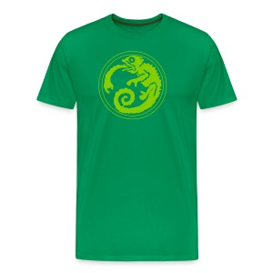 Space Chameleon - Men's Premium T-Shirt