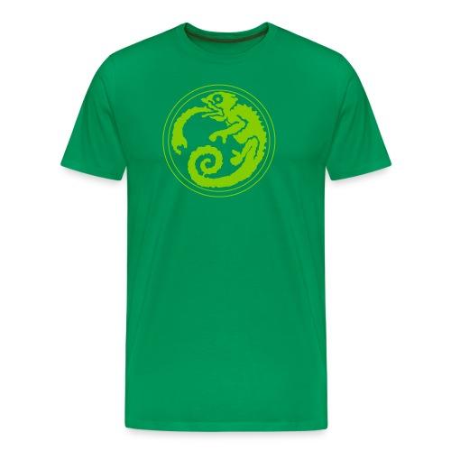 Space Chameleon - Men's Premium T-Shirt