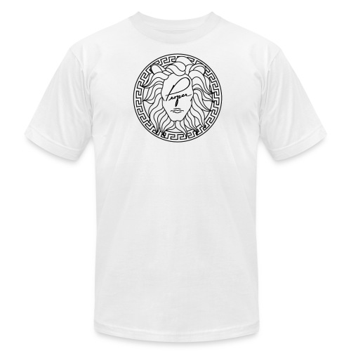 Mouth of Truth Chest Logo - Men's  Jersey T-Shirt