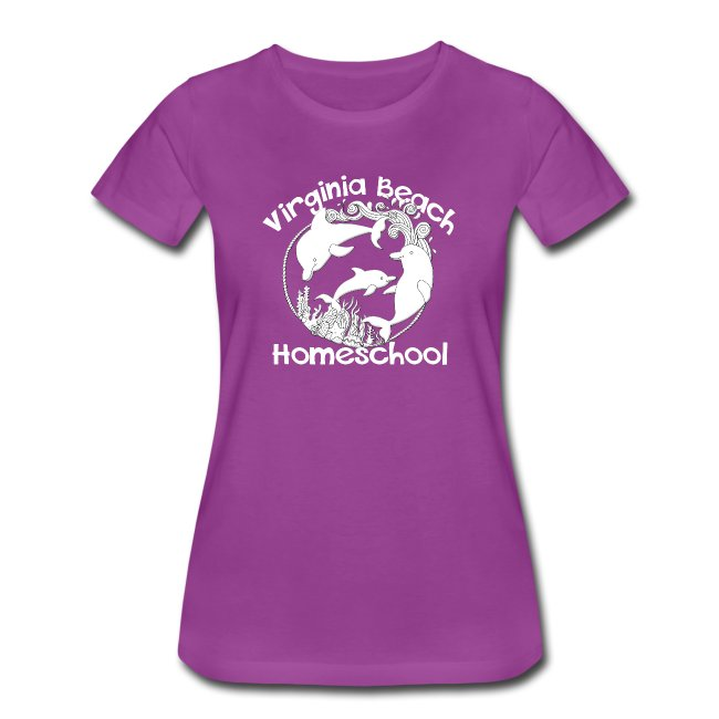 920060c7b MADE BY MOMMA | Virginia Beach Homeschool - Women's Premium T-Shirt