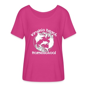 Virginia Beach Homeschool - Women's Flowy T-Shirt