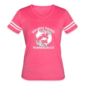 Virginia Beach Homeschool - Women's Vintage Sport T-Shirt