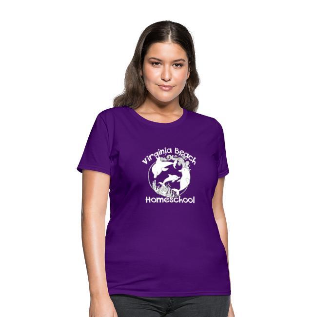 f8eae303d MADE BY MOMMA | Virginia Beach Homeschool - Womens T-Shirt