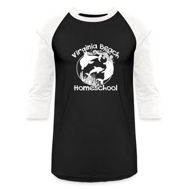 a15af8c4b MADE BY MOMMA | Virginia Beach Homeschool - Baseball T-Shirt