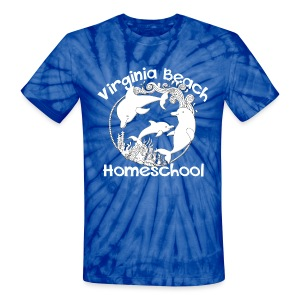 Virginia Beach Homeschool - Unisex Tie Dye T-Shirt