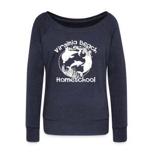 Virginia Beach Homeschool - Women's Wideneck Sweatshirt