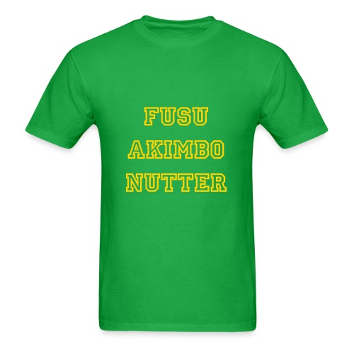Akimbo Nutter - Men's T-Shirt
