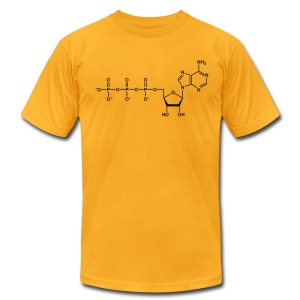 YellowIbis.com 'Chemical Structures' Men's / Unisex American Apparel T: ATP (Color Choice) - Men's T-Shirt by American Apparel