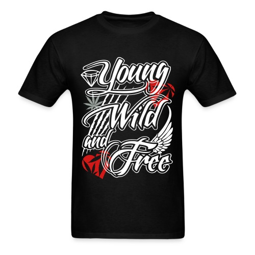 Young Wild Weed - Men's T-Shirt