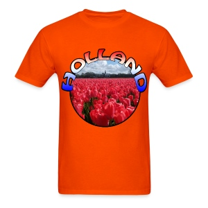 Holland Red tulips Men's T-Shirt - Men's T-Shirt