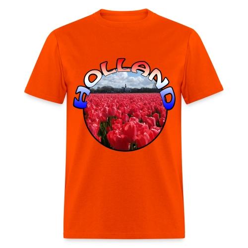 Holland Red tulips Men's T-Shirt - Men's T-Shirt