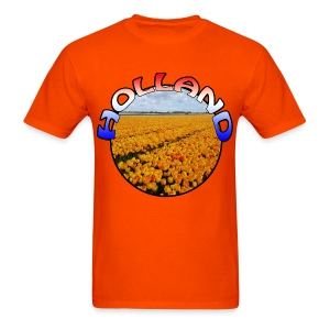 Holland Orange tulips Men's T-Shirt - Men's T-Shirt