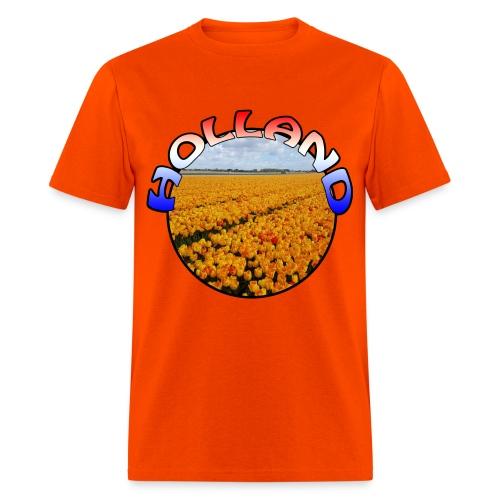 Holland Orange tulips Men's T-Shirt - Men's T-Shirt