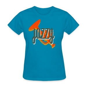 jazzy - Women's T-Shirt