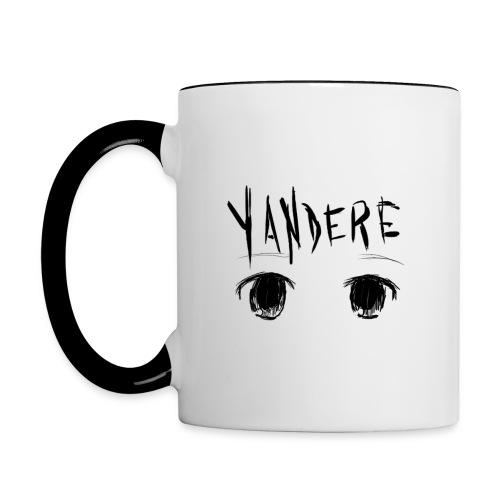 Yandere Mug - Contrast Coffee Mug