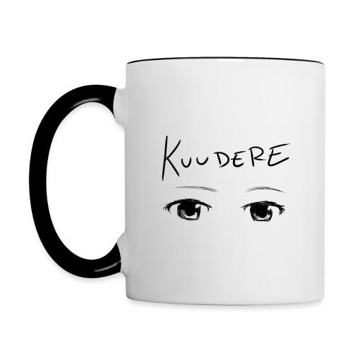 Kuudere Mug - Contrast Coffee Mug