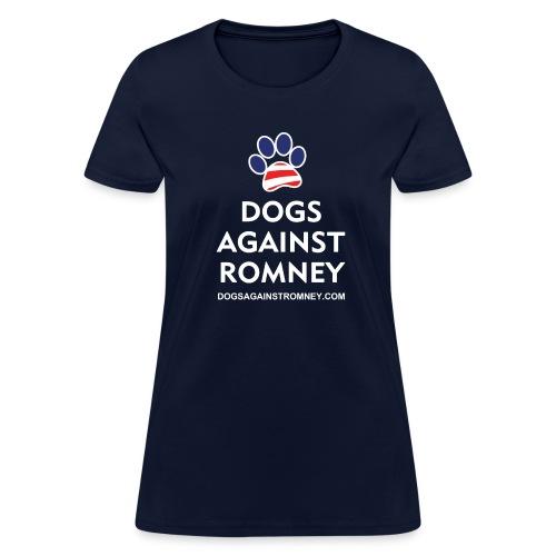 Official Dogs Against Romney Paw Women's T-Shirt - Women's T-Shirt