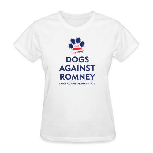 Official Dogs Against Romney Paw Women's T-Shirt - Women's T-Shirt