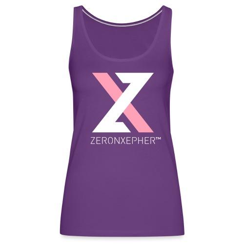 NEW ZeronXepher Official Women's Tank [Pink Special Edition Ver] - Women's Premium Tank Top