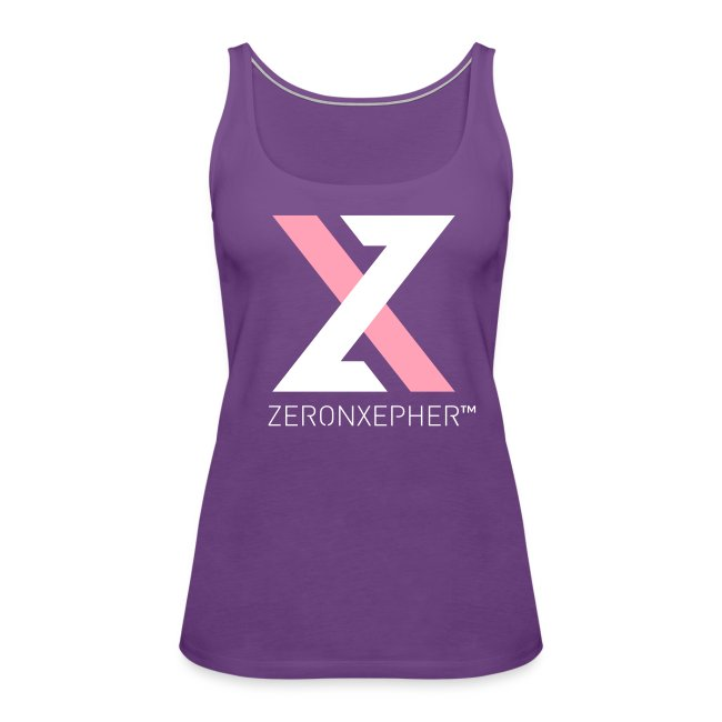 NEW ZeronXepher Official Women's Tank [Pink Special Edition Ver]