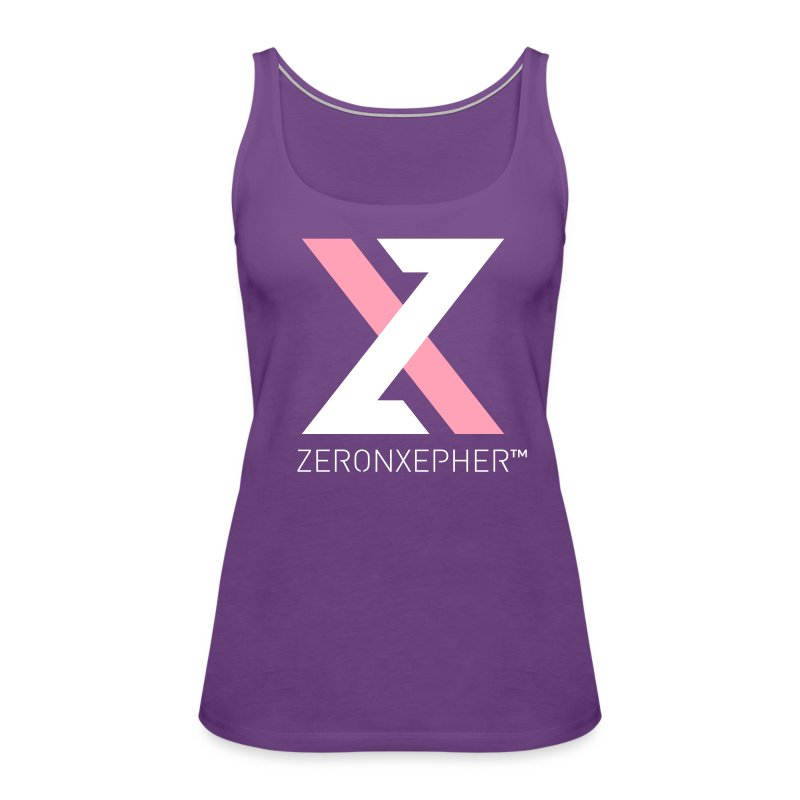 NEW ZeronXepher Official Women's Tank [Pink Special Edition Ver] - Women's Premium Tank Top