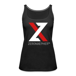 NEW ZeronXepher Official Women's Tank [Red Ver] - Women's Premium Tank Top