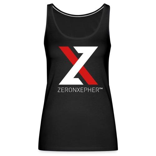 NEW ZeronXepher Official Women's Tank [Red Ver] - Women's Premium Tank Top