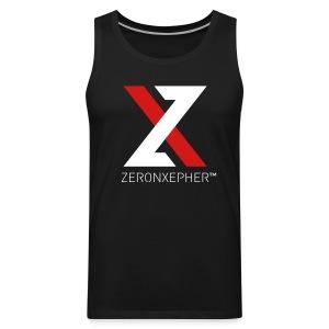 NEW ZeronXepher Official Men's Tank [Red Ver] - Men's Premium Tank