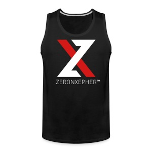 NEW ZeronXepher Official Men's Tank [Red Ver] - Men's Premium Tank