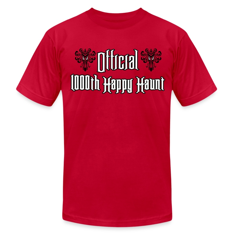 Official 1000th Happy Haunt - Men's Fine Jersey T-Shirt