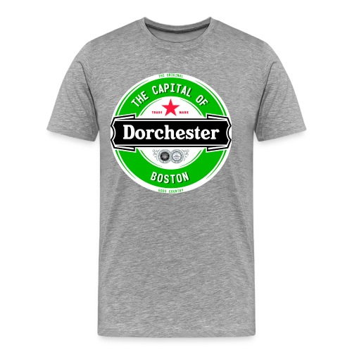 Capital of Boston - Dot Day - Big Man - Men's Premium T-Shirt
