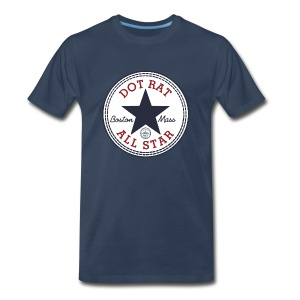 Dot Rat All Star - Big Man - Men's Premium T-Shirt