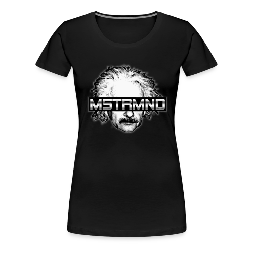 MSTRMND Einstein Head Women's T-Shirt - Women's Premium T-Shirt