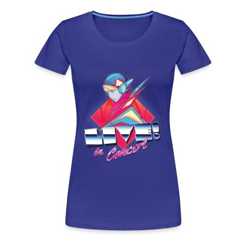 Live! in Concert Women's TEE - Women's Premium T-Shirt