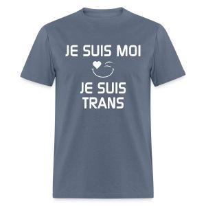 Je Suis Moi Je Suis Trans - T-shirt pour hommes