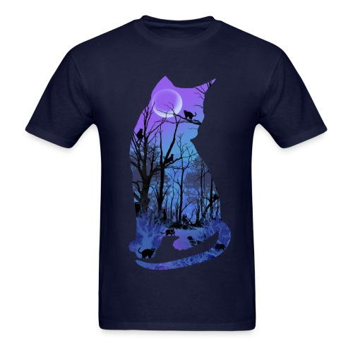 Men's Kitty Woods T-Shirt - Men's T-Shirt