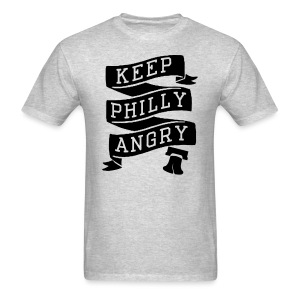 Keep Philly Angry - Men's T-Shirt