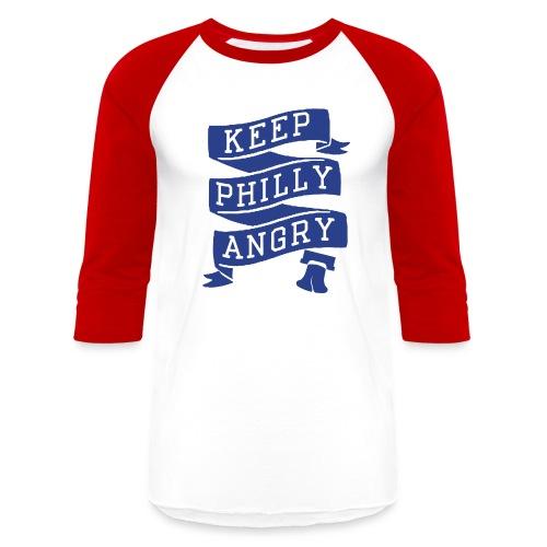 Keep Philly Angry - Baseball T-Shirt