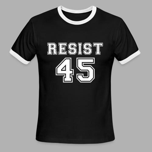 Resist 45 - Men's Ringer T-Shirt