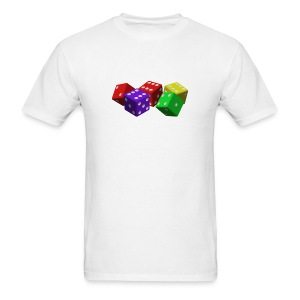 Colorful Dice Shirt - Men's T-Shirt