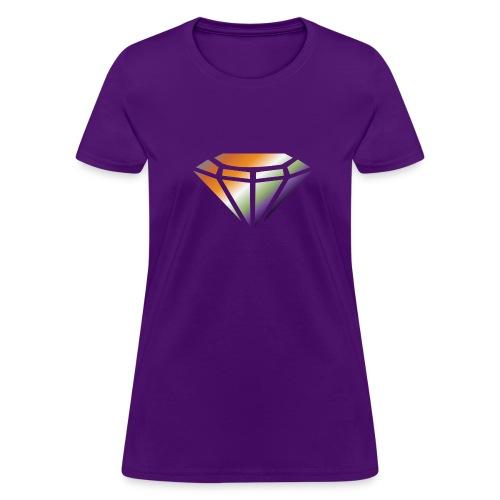 Colorful Diamond Shirt - Women's T-Shirt