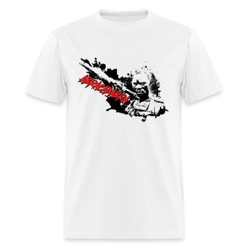 ABRACADABRA - BLACK SPLAT  - Men's T-Shirt